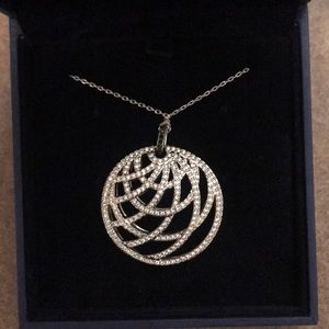 NEVER WORN Swarovski Crystal Necklace